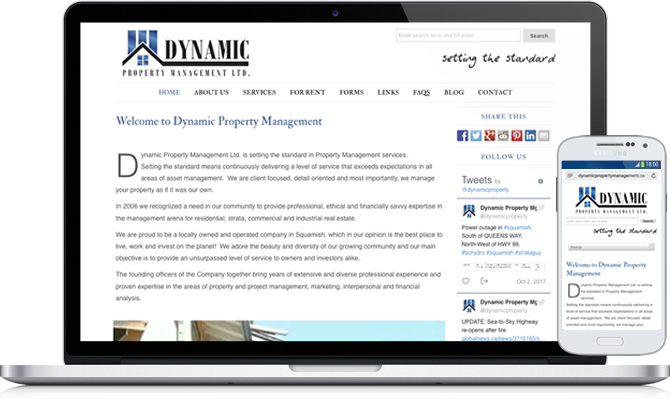 Dynamic Property Management, Squamish